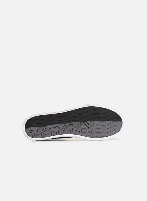 Sneaker Tommy Hilfiger Hilfiger Long Lace S schwarz ansicht von oben