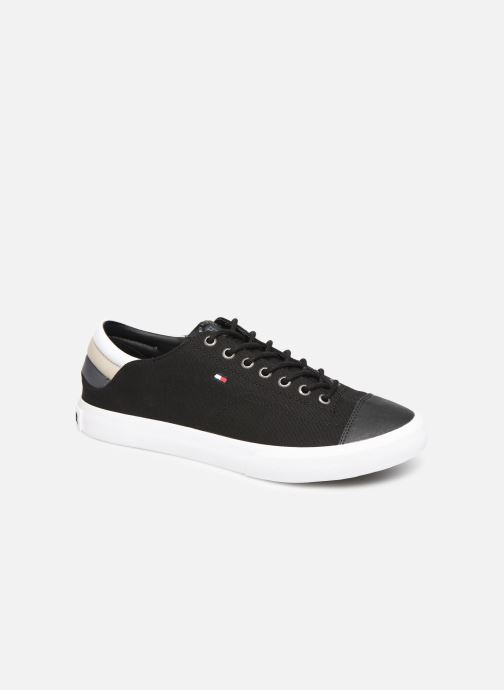 Trainers Tommy Hilfiger Hilfiger Long Lace S Black detailed view/ Pair view