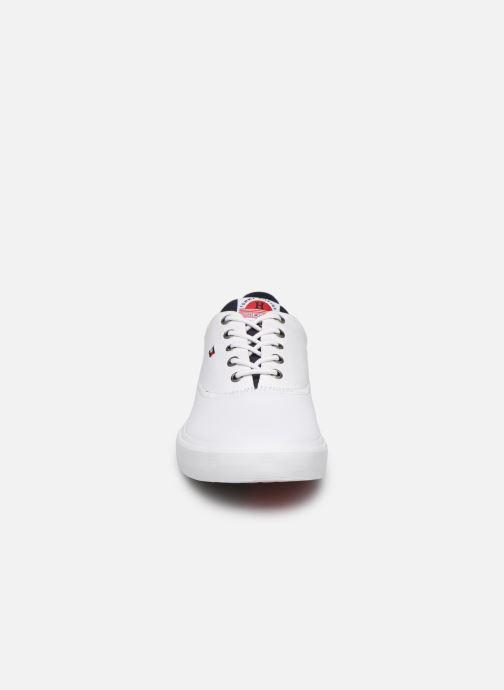 Deportivas Tommy Hilfiger Hilfiger Oxford Snea Blanco vista del modelo