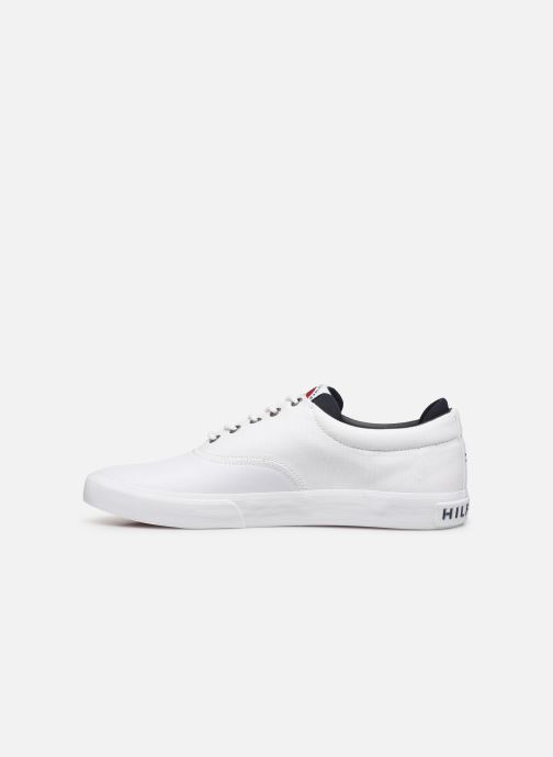 Sneakers Tommy Hilfiger Hilfiger Oxford Snea Wit voorkant