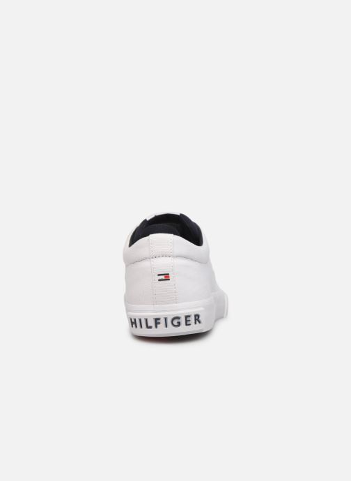 Sneakers Tommy Hilfiger Hilfiger Oxford Snea Wit rechts