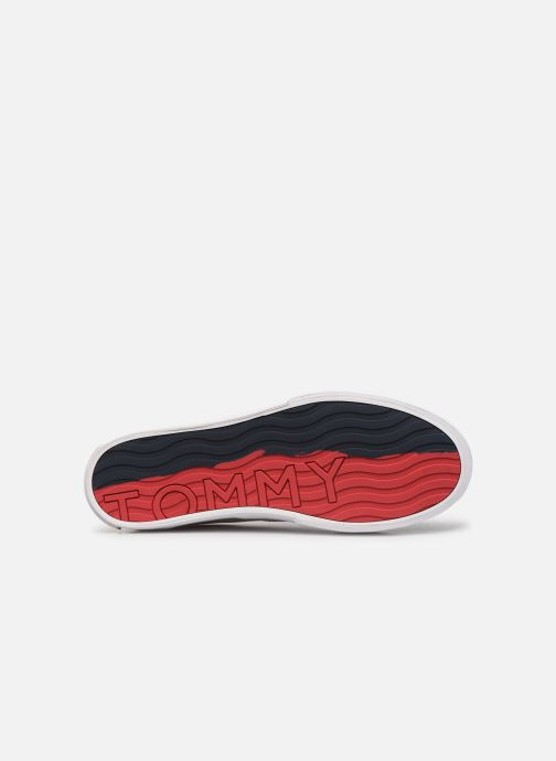Sneakers Tommy Hilfiger Hilfiger Oxford Snea Wit boven