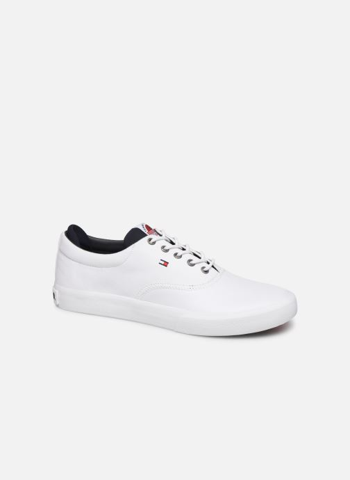 Deportivas Tommy Hilfiger Hilfiger Oxford Snea Blanco vista de detalle / par