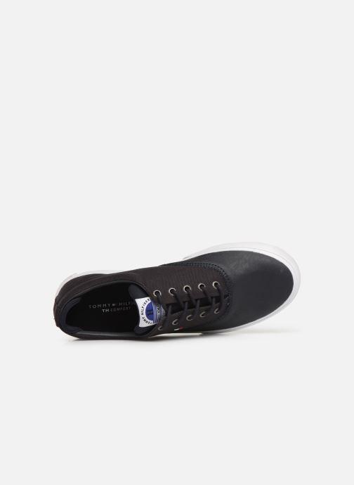 Baskets Tommy Hilfiger Hilfiger Oxford Snea Bleu vue gauche