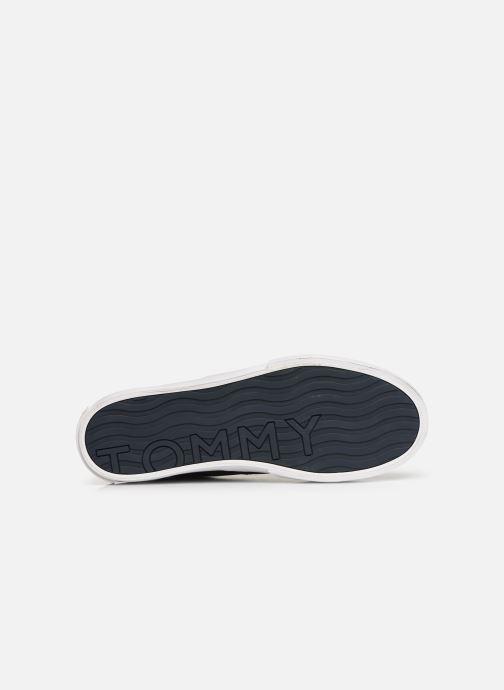 Baskets Tommy Hilfiger Hilfiger Oxford Snea Bleu vue haut
