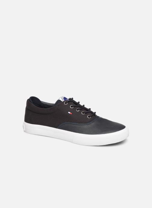 Sneakers Tommy Hilfiger Hilfiger Oxford Snea Blå detaljeret billede af skoene