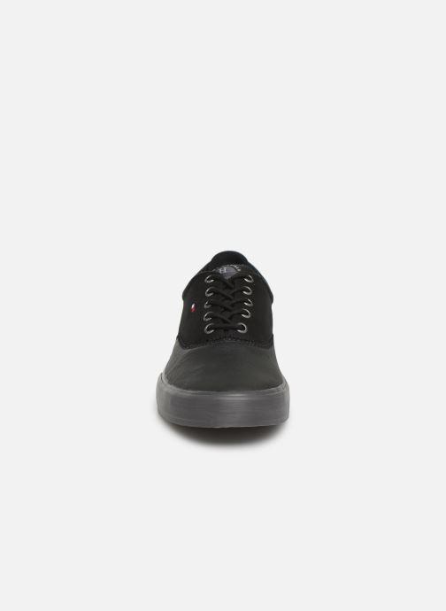 Deportivas Tommy Hilfiger Hilfiger Oxford Snea Negro vista del modelo