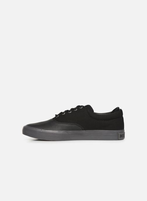 Trainers Tommy Hilfiger Hilfiger Oxford Snea Black front view