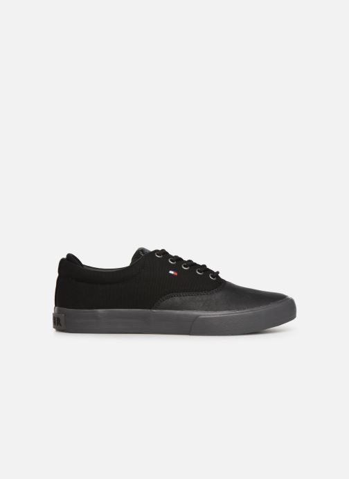 Trainers Tommy Hilfiger Hilfiger Oxford Snea Black back view
