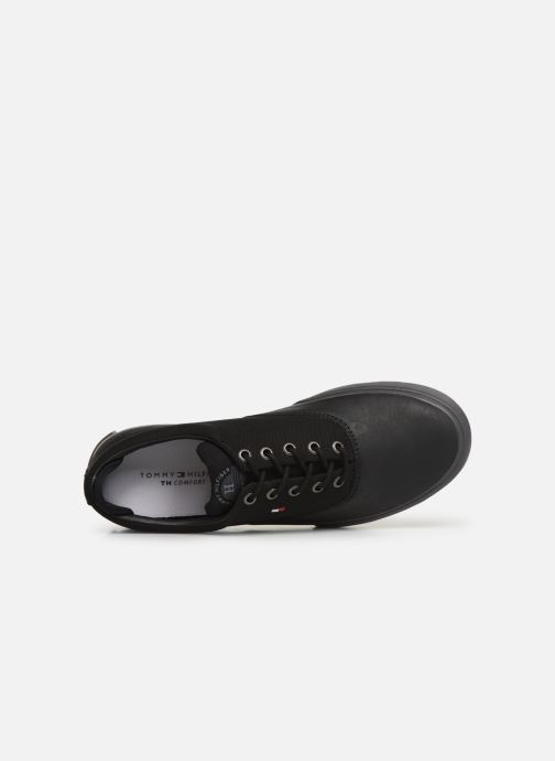 Trainers Tommy Hilfiger Hilfiger Oxford Snea Black view from the left