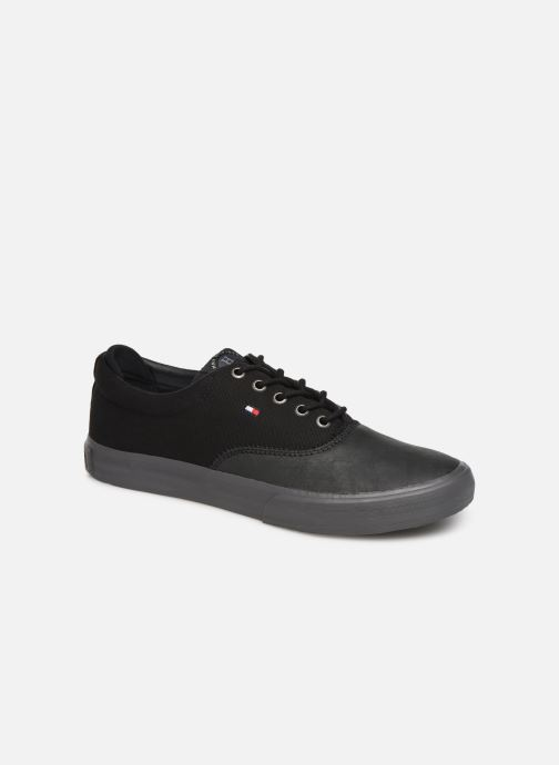 Trainers Tommy Hilfiger Hilfiger Oxford Snea Black detailed view/ Pair view