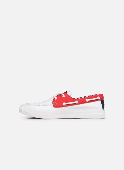 Scarpe con lacci Tommy Hilfiger Hybrid City Sneaker Bianco immagine frontale