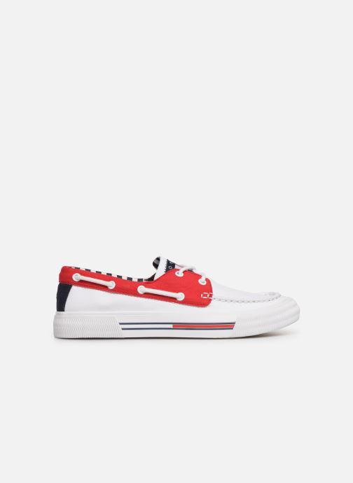 Scarpe con lacci Tommy Hilfiger Hybrid City Sneaker Bianco immagine posteriore
