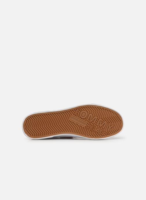 Scarpe con lacci Tommy Hilfiger Hybrid City Sneaker Bianco immagine dall'alto