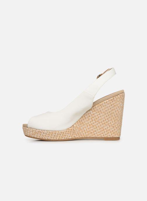 Sandales et nu-pieds Tommy Hilfiger Iconic Elena Blanc vue face