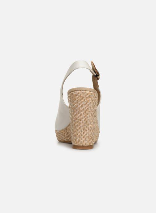 Sandales et nu-pieds Tommy Hilfiger Iconic Elena Blanc vue droite