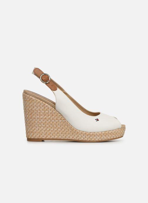 Sandales et nu-pieds Tommy Hilfiger Iconic Elena Blanc vue derrière