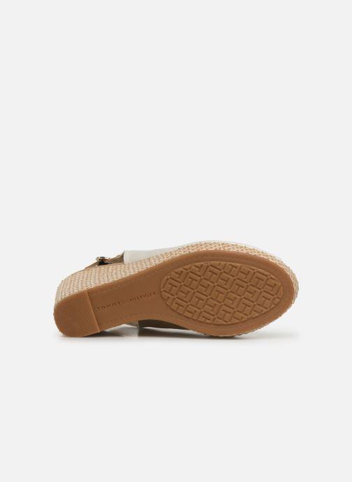 Sandales et nu-pieds Tommy Hilfiger Iconic Elena Blanc vue haut