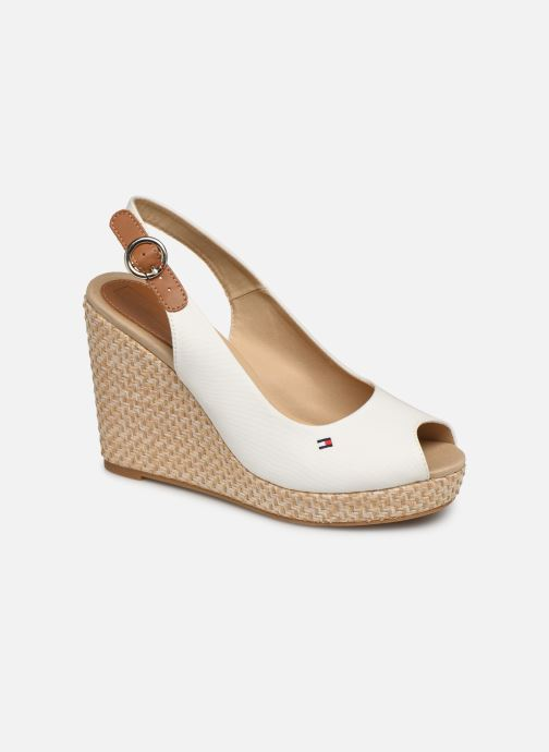 Sandals Tommy Hilfiger Iconic Elena White detailed view/ Pair view