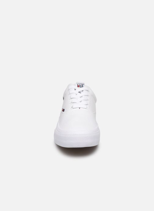 Trainers Tommy Hilfiger Logo Classic Tommy J White model view