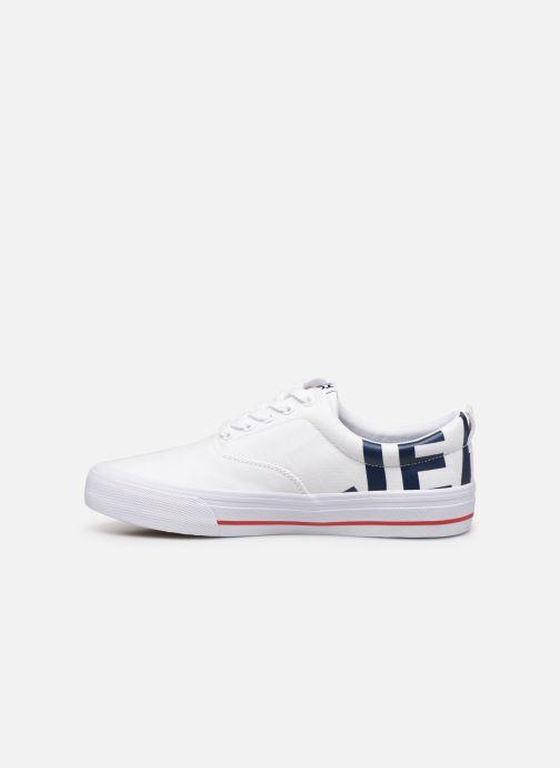Sneakers Tommy Hilfiger Logo Classic Tommy J Hvid se forfra