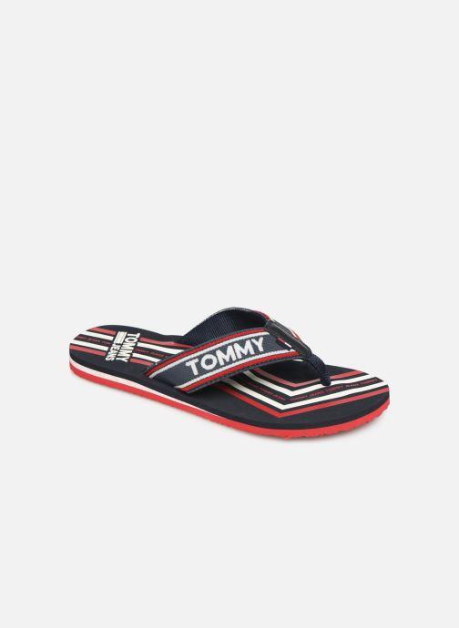 Flip flops & klipklapper Tommy Hilfiger Pop Webbing B Blå detaljeret billede af skoene