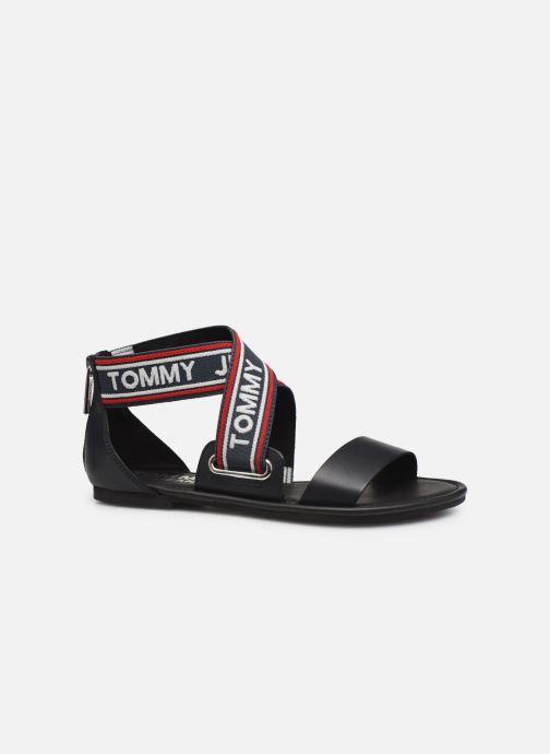 Sandales et nu-pieds Tommy Hilfiger Pop Webbing F Bleu vue derrière