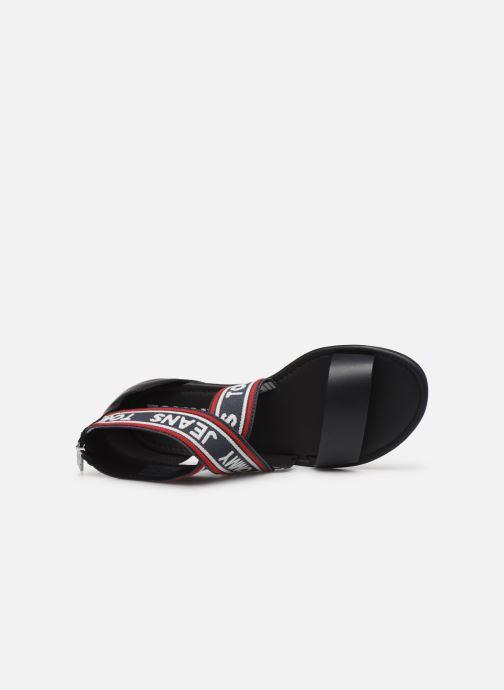 Sandales et nu-pieds Tommy Hilfiger Pop Webbing F Bleu vue gauche