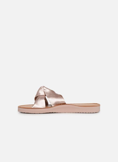 Mules et sabots Tommy Hilfiger Satin Elevate Rose vue face