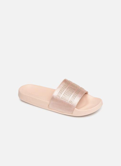 Clogs og træsko Tommy Hilfiger Sparkle Satin Pink detaljeret billede af skoene