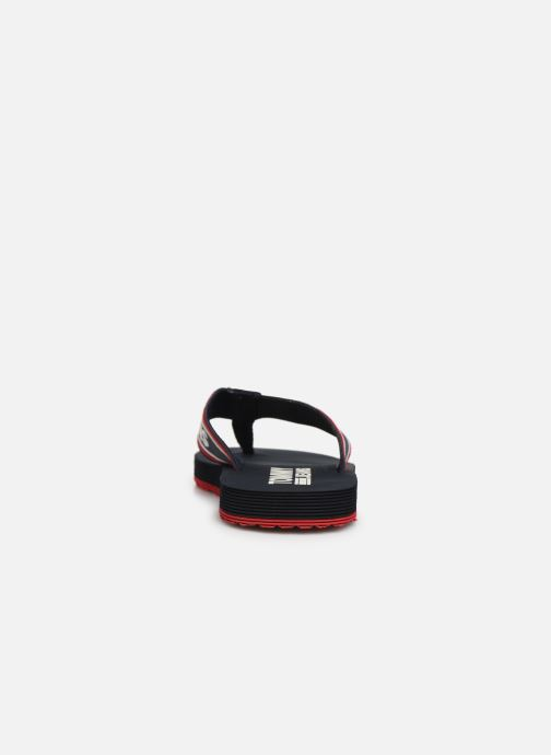 Flip flops Tommy Hilfiger Stripe Tommy Black view from the right