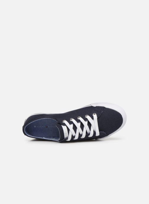 Baskets Tommy Hilfiger Tommy Essential Sneakers Bleu vue gauche