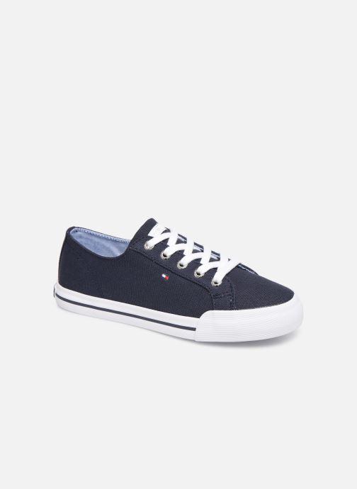 Deportivas Tommy Hilfiger Tommy Essential Sneakers Azul vista de detalle / par