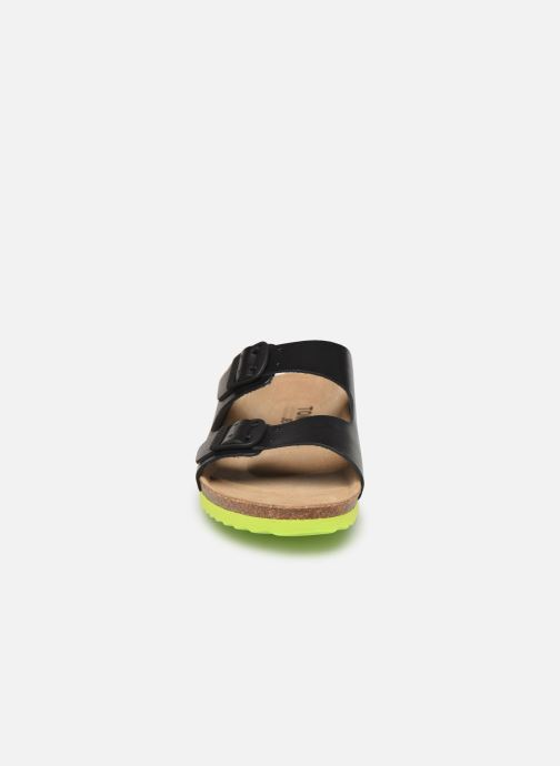 Sandales et nu-pieds Tommy Hilfiger Tommy Jeans Buckle S Noir vue portées chaussures