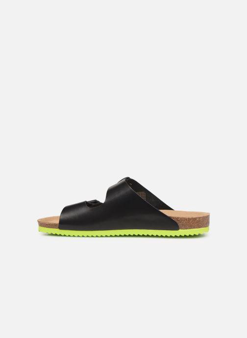 Sandales et nu-pieds Tommy Hilfiger Tommy Jeans Buckle S Noir vue face