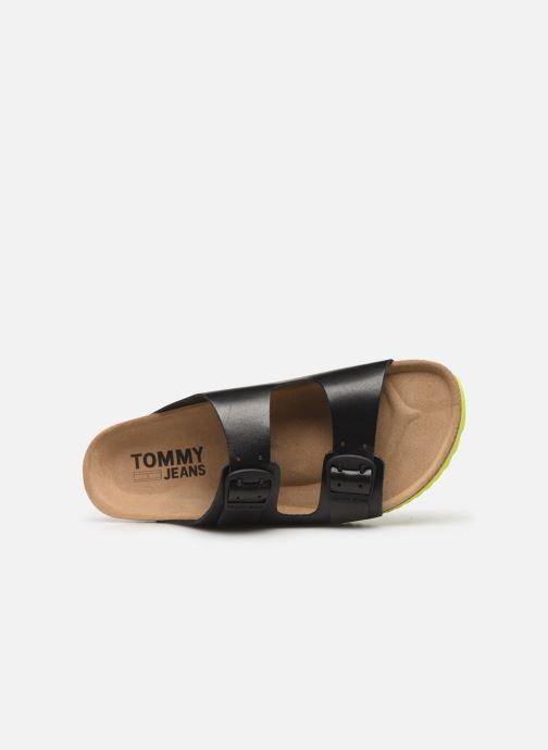 Sandales et nu-pieds Tommy Hilfiger Tommy Jeans Buckle S Noir vue gauche