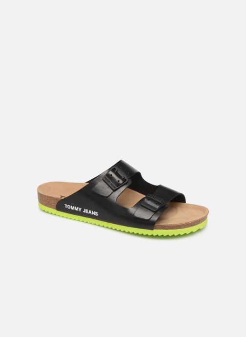 Sandales et nu-pieds Tommy Hilfiger Tommy Jeans Buckle S Noir vue détail/paire