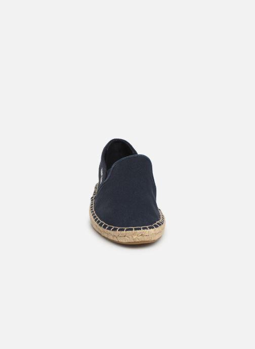 Espadrilles Tommy Hilfiger Tommy Jeans F Bleu vue portées chaussures