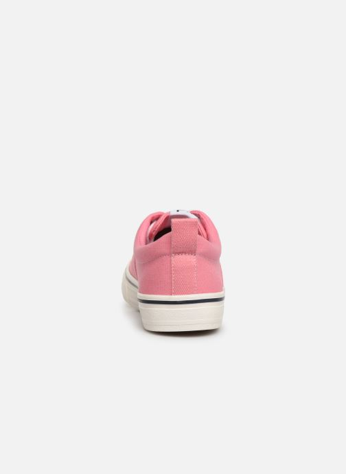 Deportivas Tommy Hilfiger Wmn Classic Tommy Je Rosa vista lateral derecha