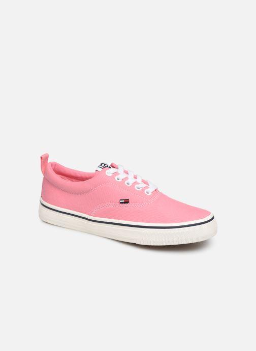 Sneakers Tommy Hilfiger Wmn Classic Tommy Je Pink detaljeret billede af skoene