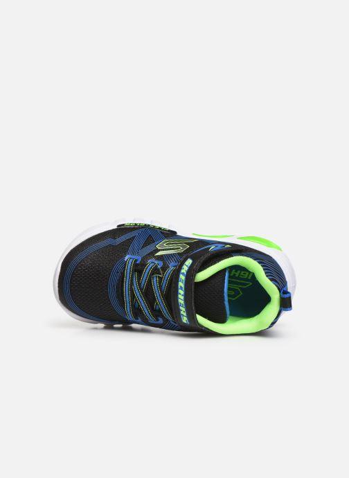 Deportivas Skechers Flex-Glow B Negro vista lateral izquierda