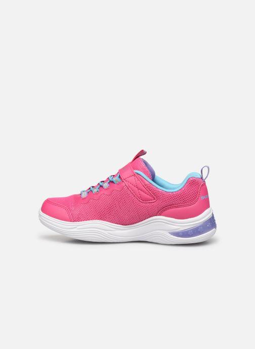 Sneakers Skechers Power Petals Pink se forfra