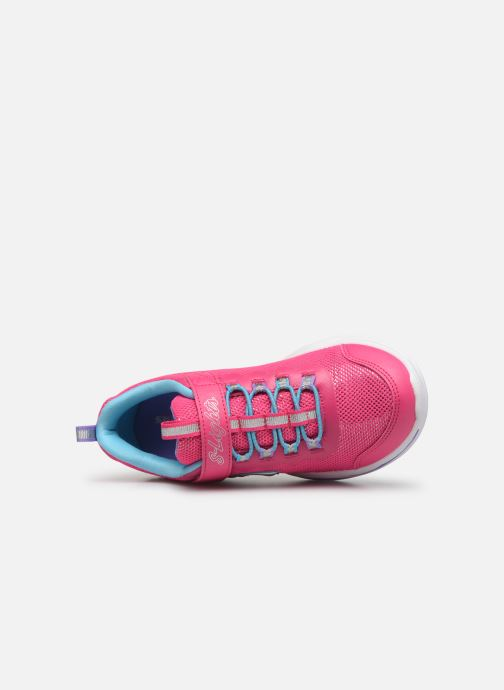 Baskets Skechers Power Petals Rose vue gauche