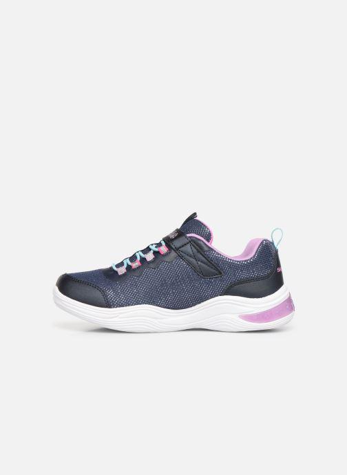 Sneaker Skechers Power Petals blau ansicht von vorne