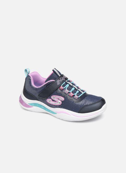 Sneakers Skechers Power Petals Blå detaljeret billede af skoene