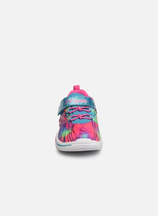 Baskets Skechers Power Petals Multicolore vue portées chaussures