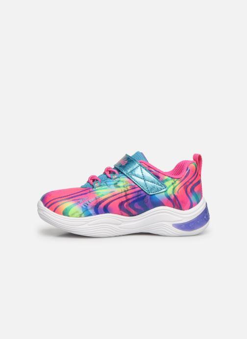 Baskets Skechers Power Petals Multicolore vue face