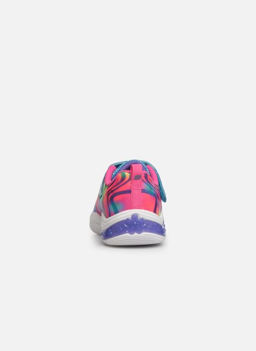 Baskets Skechers Power Petals Multicolore vue droite