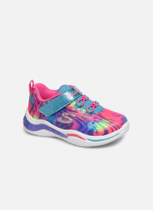 Baskets Skechers Power Petals Multicolore vue détail/paire