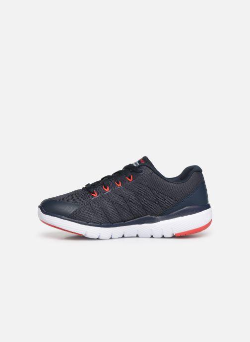Chaussures de sport Skechers Flex Advantage 3.0 Bleu vue face